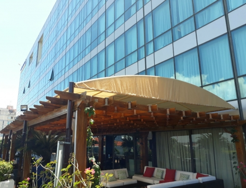 Hyatt Regency Park – Car Parking Shades, Pergola Shade & Canopy Shade