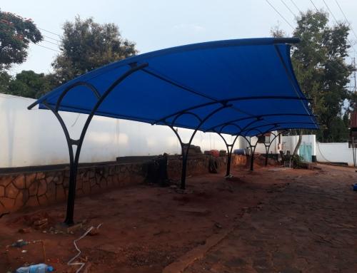 UNHCR field office Kigoma – Car parking shade